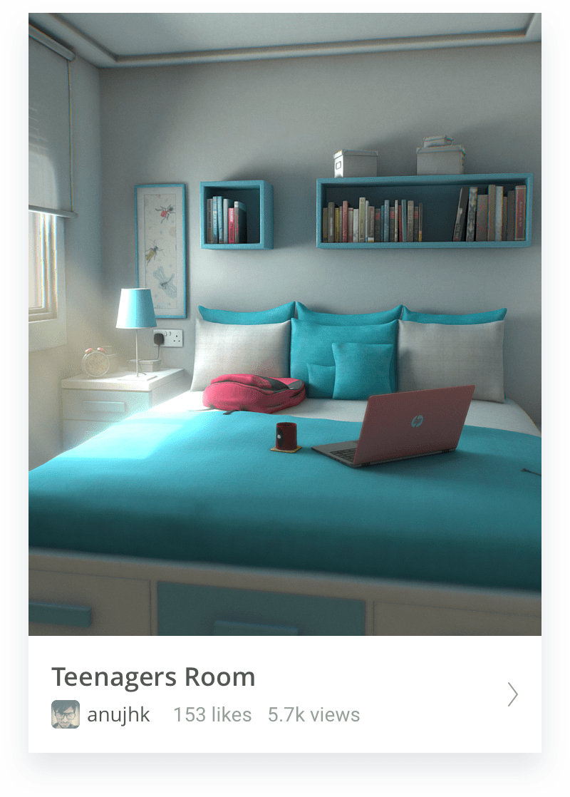 Teenagers room thumbnail