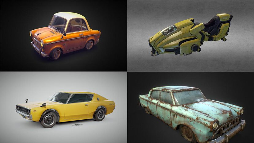 Cars & Vehicles 3D models