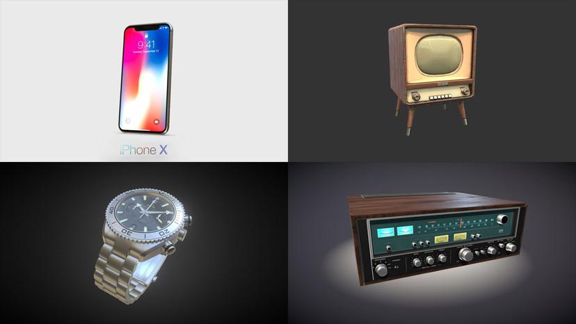 Electronics & Gadgets 3D models