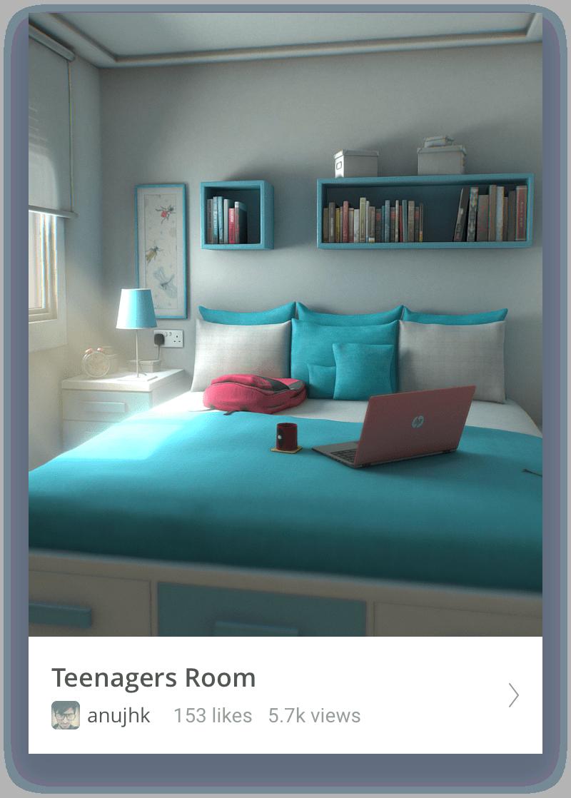 Teenagers room thumbnail