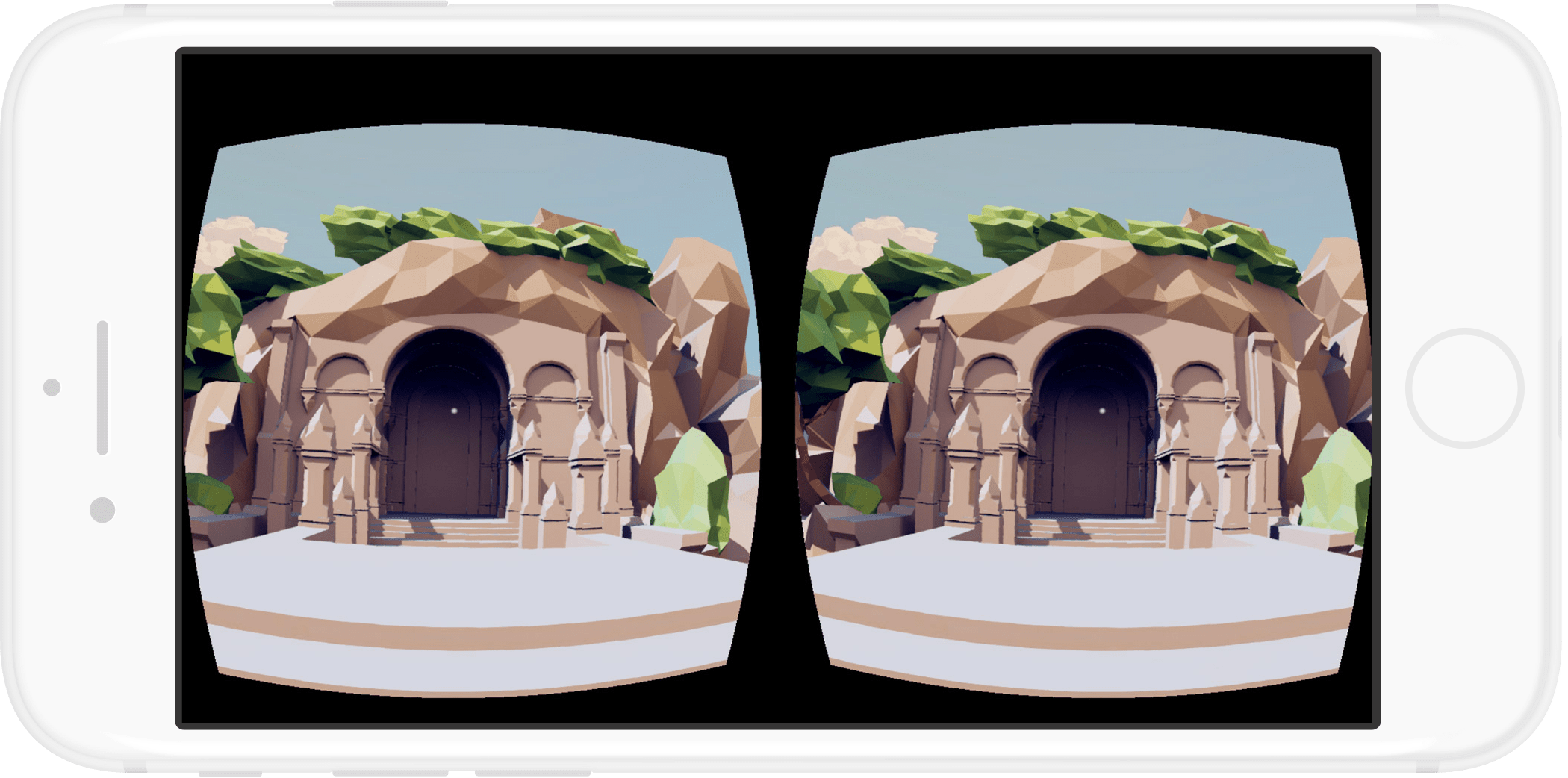 iphone in vr mode