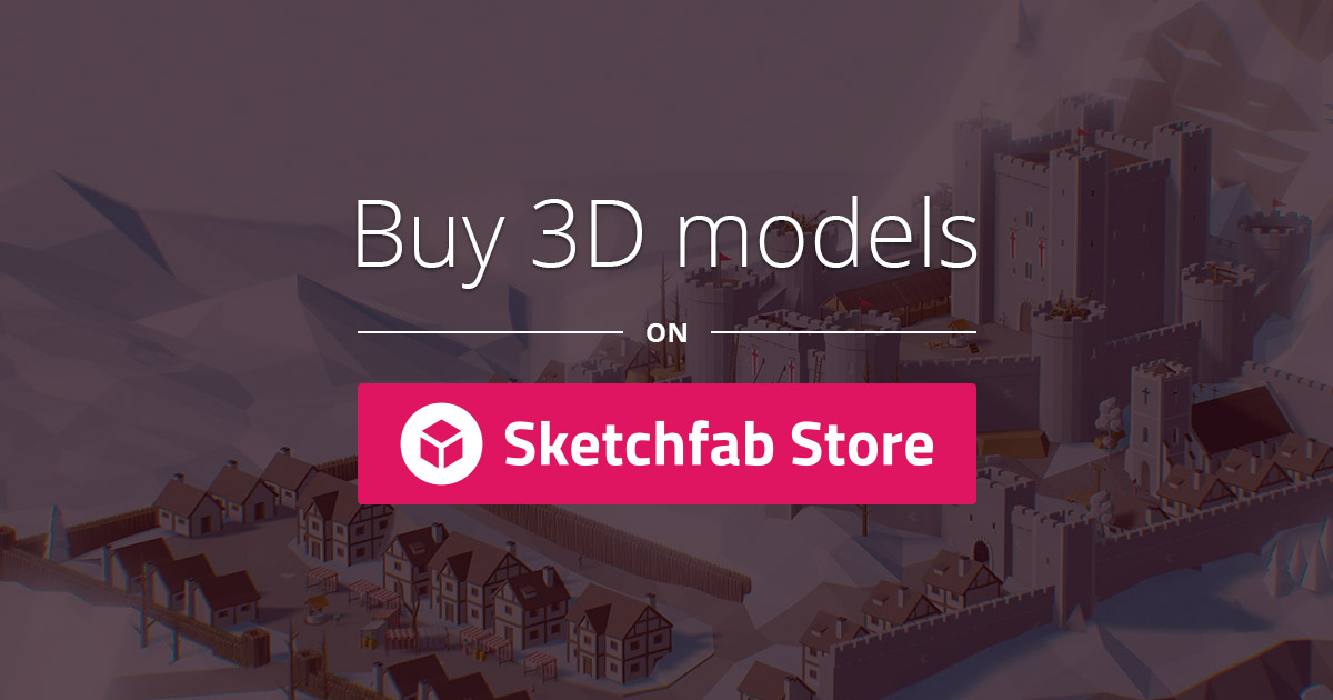 Buy Royalty Free 3D models - Sketchfab Store